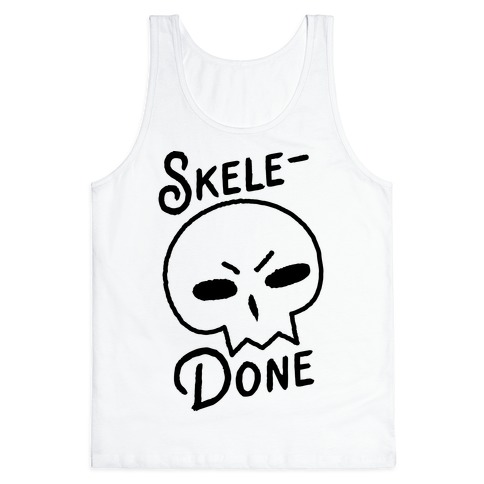 Skele-Done Tank Top