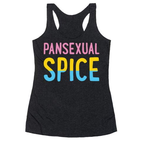 Pansexual Spice Racerback Tank Top