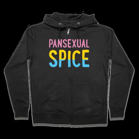 Pansexual Spice Zip Hoodie