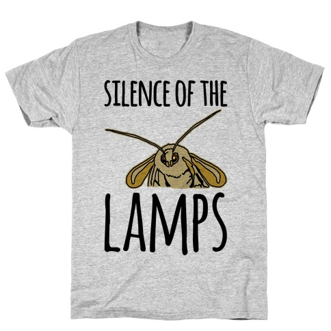 Silence of The Lamps Moth Parody T-Shirt