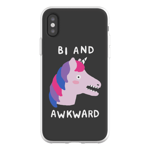 Bi And Awkward Phone Flexi-Case