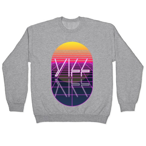 Synthwave Yiff Pullover