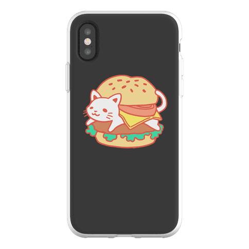 Burger Cat (No Text) Phone Flexi-Case