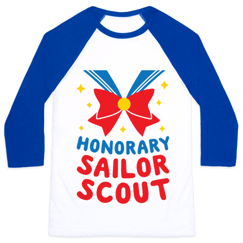 Honorary Sailor Scout Baseball Tee
