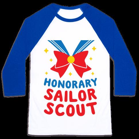 Honorary Sailor Scout Baseball Tee