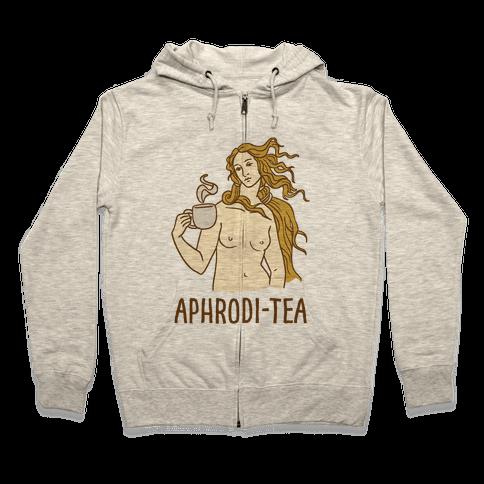 Aphrodi-tea Zip Hoodie