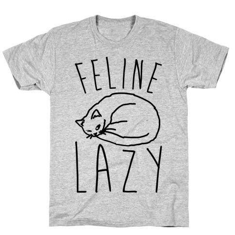 Feline Lazy T-Shirt