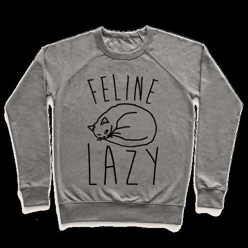 Feline Lazy Pullover