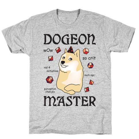 Dogeon Master Doge DM T-Shirt