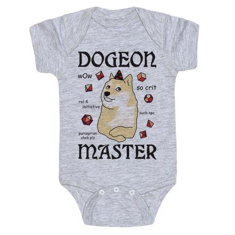 Dogeon Master Doge DM Baby Onesy