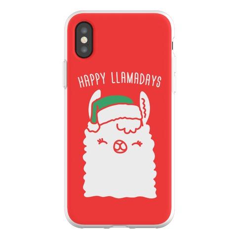 Happy Llamadays Phone Flexi-Case