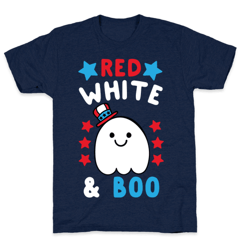 Red, White and Boo Mens T-Shirt