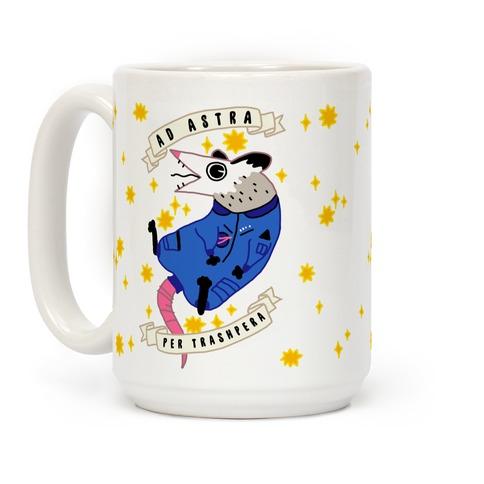 Ad Astra Per Trashpera  Coffee Mug