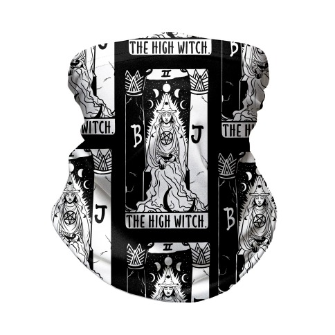 The High Witch Tarot Neck Gaiter