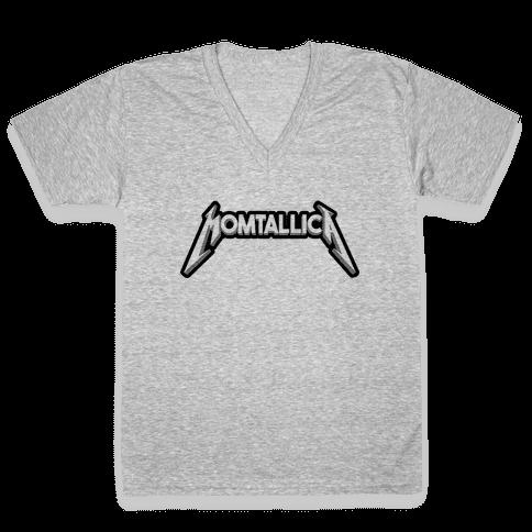 Momtallica V-Neck Tee Shirt