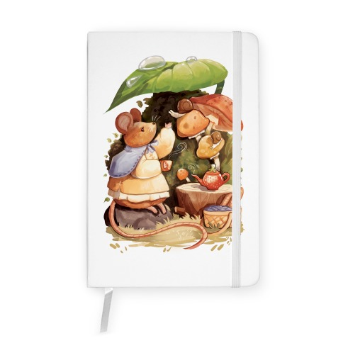 Mouse Tea Time Notebook