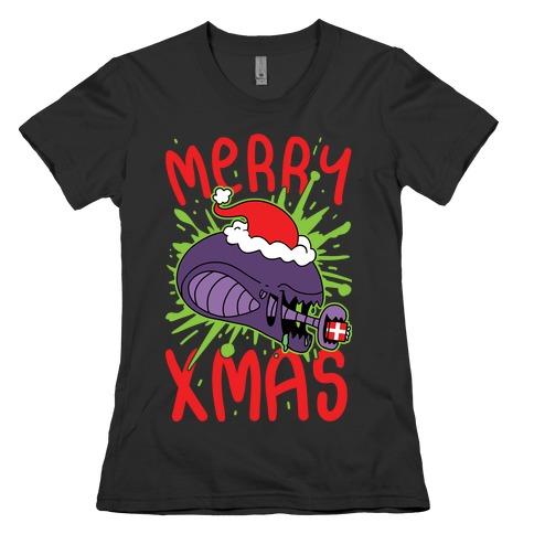 Merry Xmas Womens T-Shirt