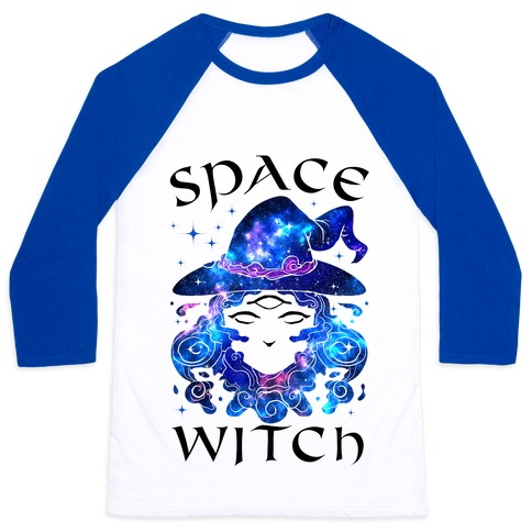 Space Witch Baseball Tee