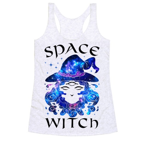 Space Witch Racerback Tank Top
