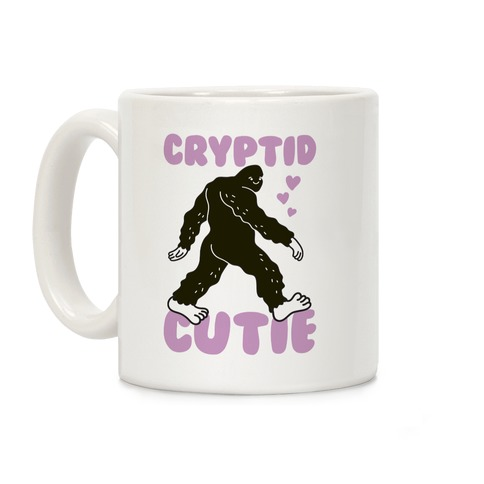 Cryptid Cutie Bigfoot Coffee Mug