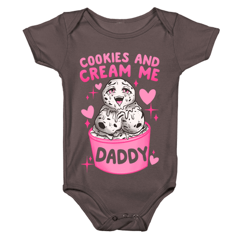 Cookies and Cream Me Daddy Baby One-Piece