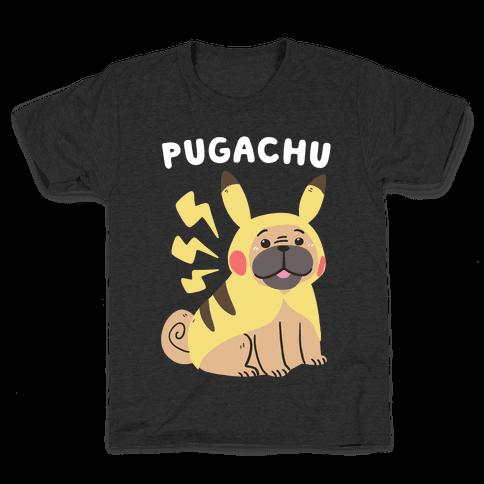 Pugachu Kids T-Shirt