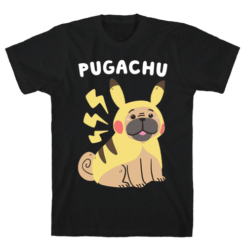 Pugachu Mens T-Shirt