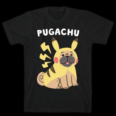 Pugachu Mens T-Shirt