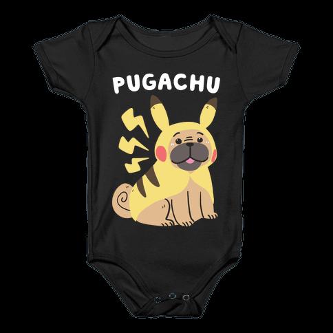 Pugachu Baby Onesy