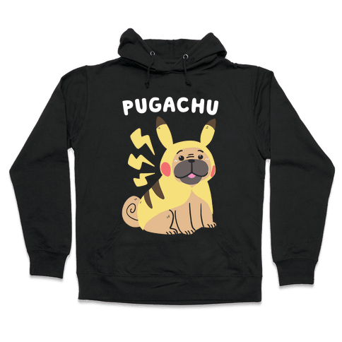 Pugachu Hooded Sweatshirt