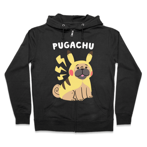 Pugachu Zip Hoodie
