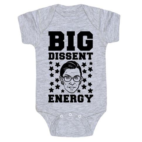Big Dissent Energy Baby Onesy