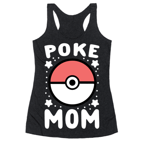 Poke Mom Racerback Tank Top