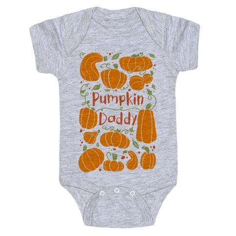 Pumpkin Daddy Baby Onesy