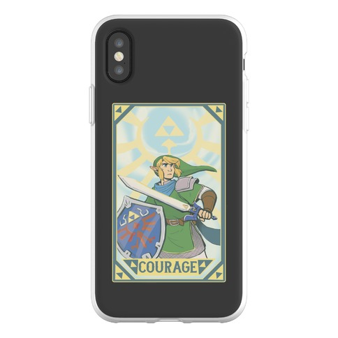 Courage - Link Phone Flexi-Case