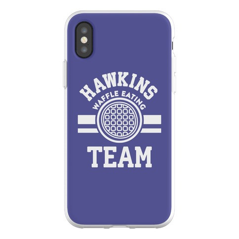 Hawkins Waffle Eating Team Phone Flexi-Case