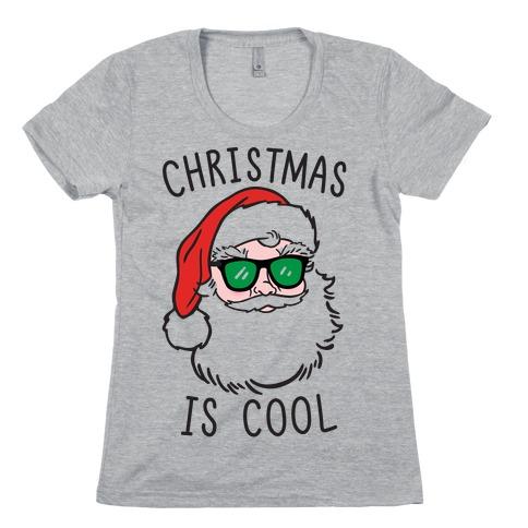 Christmas Is Cool Womens T-Shirt