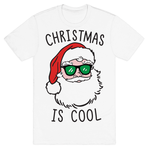 Christmas Is Cool Mens T-Shirt
