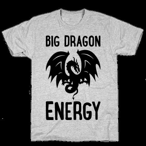 Big Dragon Energy Mens T-Shirt