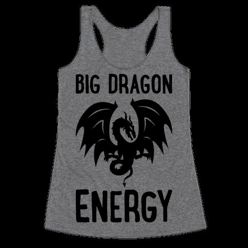 Big Dragon Energy Racerback Tank Top