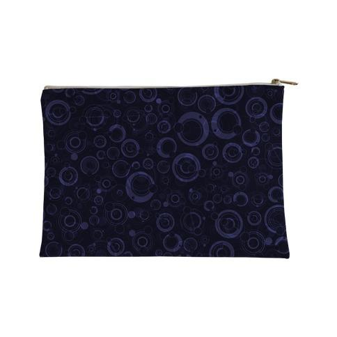 Gallifreyan Text Pattern Accessory Bag
