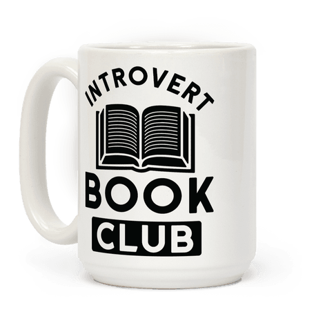 Introvert Book Club Coffee Mug