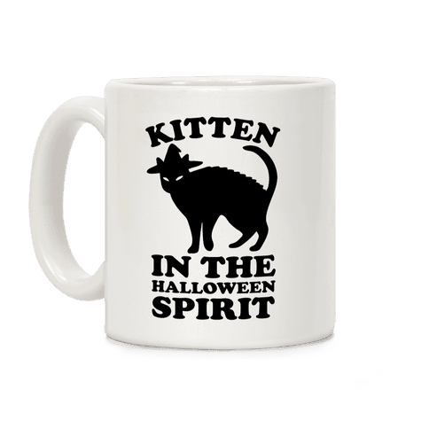 Kitten In The Halloween Spirit Coffee Mug
