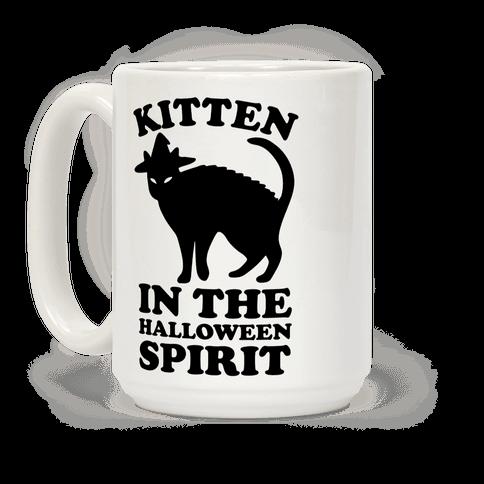 Kitten In The Halloween Spirit