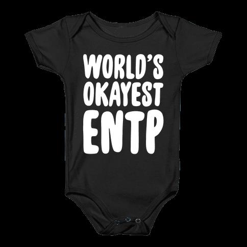World's Okayest ENTP Baby Onesy