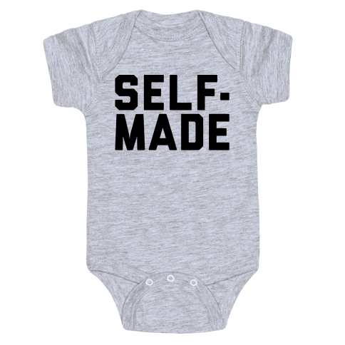 Self-Made Baby Onesy