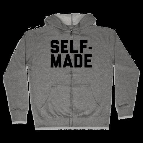 Self-Made Zip Hoodie
