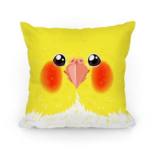 Cockatiel face Pillow