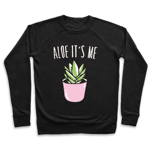 Aloe It's Me White Print Pullover