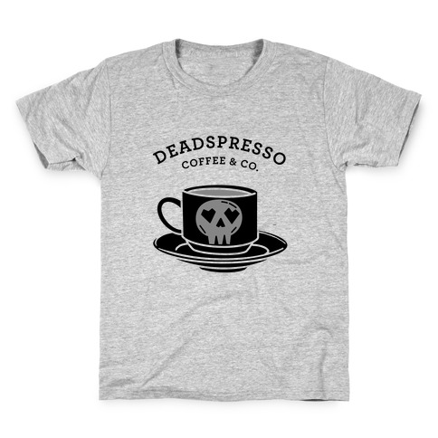 Deadspresso (Black) Kids T-Shirt